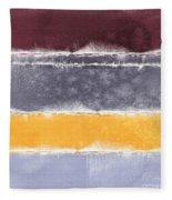 Indian Summer Fleece Blanket