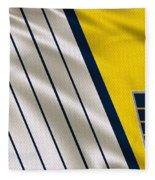 Indiana Pacers Uniform Fleece Blanket