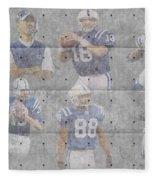 Indianapolis Colts Legends Fleece Blanket