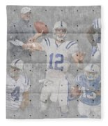 Indianapolis Colts Team Fleece Blanket