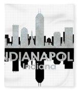 Indianapolis In 4 Fleece Blanket