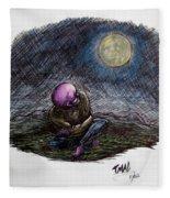 Indigo Night Fleece Blanket