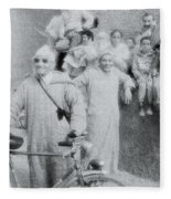 The Cyclist Fleece Blanket