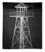 Industrial Alcatraz Fleece Blanket