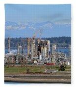 Industrial Refinery Fleece Blanket