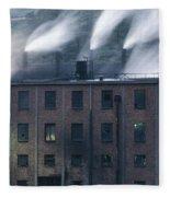 Dark Satanic Mill Fleece Blanket