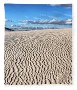 Infinite Sand Patterns Fleece Blanket