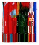 Infinity Jewel Mosaic  5 Fleece Blanket