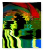Infinity Rainbow River 1 Fleece Blanket