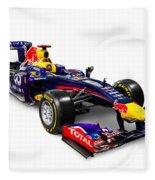 Infinity Red Bull Rb9 Formula 1 Race Car Fleece Blanket
