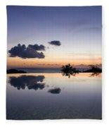 Infinity Reflection Pool Fleece Blanket