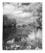 Infrared Mill Pond Fleece Blanket