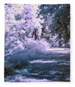 Infrared Morning Fleece Blanket