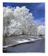 Infrared Road Fleece Blanket