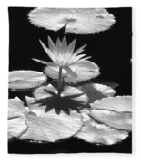 Infrared - Water Lily 02 Fleece Blanket