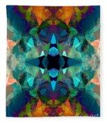 Inkblot Imagination Fleece Blanket