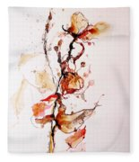 Ink_r1 Fleece Blanket
