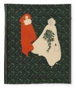 Inland Printer, 1895 Fleece Blanket