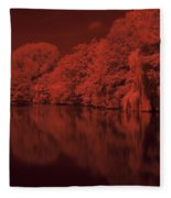 Inner City Lake Fleece Blanket