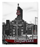 Inner Harbor Fleece Blanket