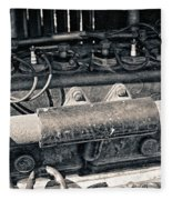 Inner Life Of An Old Car Fleece Blanket