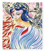 Inner Peace Fleece Blanket