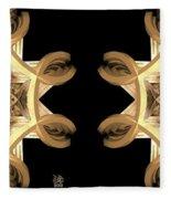 Inner Response - Stereogram Fleece Blanket