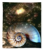 Inner Space Outer Space Fleece Blanket