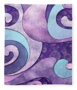 Inner Wisdom - Sagesse Interieure Fleece Blanket