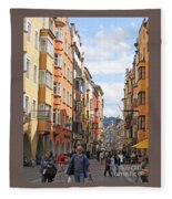 Innsbruck Color Fleece Blanket