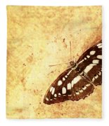 Insect Study Number 66 Fleece Blanket