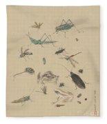 Insects C1825 Fleece Blanket