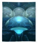 Inside A Blue Moon Fleece Blanket