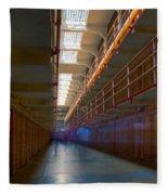 Inside Alcatraz Fleece Blanket