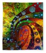 Inside Consciousness  Fleece Blanket