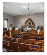 Inside The Church Fleece Blanket