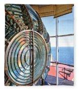 Inside The Lighthouse Fleece Blanket