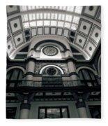Inside Union Station Fleece Blanket