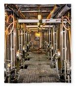 Inside Winery Fleece Blanket
