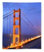 The Golden Gate Bridge Fleece Blanket