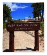 Inspiration Point Fleece Blanket