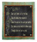 Inspirational Chalkboard-d2 Fleece Blanket