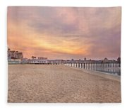 Inspirational Theater Old Orchard Beach  Fleece Blanket