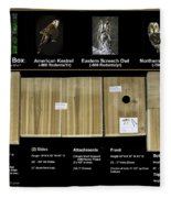 Instructions Cedar Nest Box For Kestrel And Owl Fleece Blanket