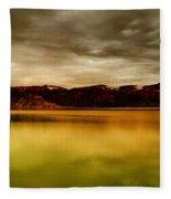 Intenisty In The Clouds  Fleece Blanket