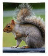 Interesting Tail Fleece Blanket