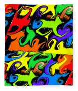 Intergalactic Fleece Blanket
