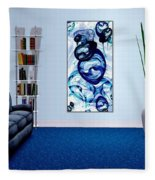 Interior Design Idea - Immiscible Fleece Blanket