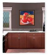 Interior Design Idea - Tomatoes Fleece Blanket