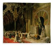 Interior Of The Mosque At Cordoba Fleece Blanket
